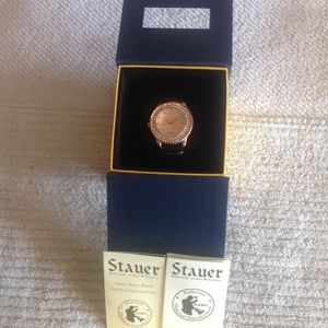 Lady's Stauer Watch with crystals